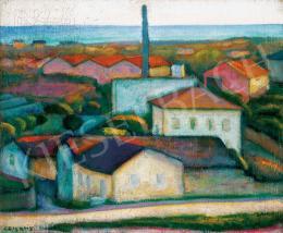 Czigány Dezső - Dél-francia táj, 1930 körül