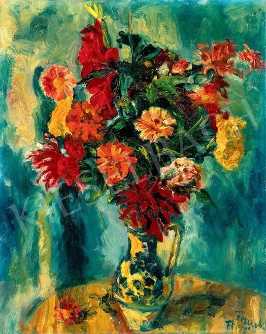 Frank Frigyes - Virágcsendélet | 29. Aukció aukció / 95 tétel