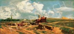 Lotz Károly - Vágtató lovas