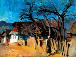 Nagy Oszkár - Koratavaszi fények Felsőbányán, 1927