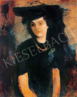 Hatvany Ferenc - Kalapos hölgy