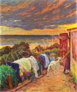 Poll, Hugó - Sunset, 1914