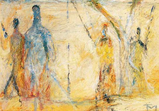 Tóth Menyhért - Horgászok, 1956 körül   29. Aukció aukció / 168 tétel