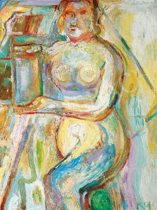 Tóth Menyhért - Befőzés, 1958-59 körül | 29. Aukció aukció / 169 tétel
