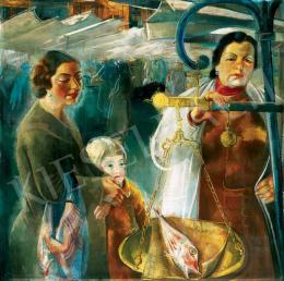 Borbereki-Kovács Zoltán - Római halpiac, 1935