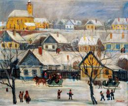 Pólya Tibor - Falu télen