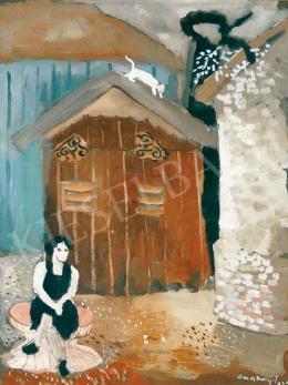 Anna Margit - Udvar (Emlékezések udvara), 1934