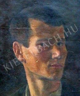 Döbröczöni Kálmán - Önarckép (1921)