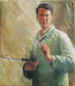 Döbröczöni Kálmán - Önarckép, 1930