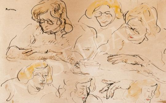 Rippl-Rónai József - Kávézók, 1913 | 20. Aukció aukció / 1 tétel