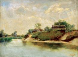 Telepy Károly - Folyópart