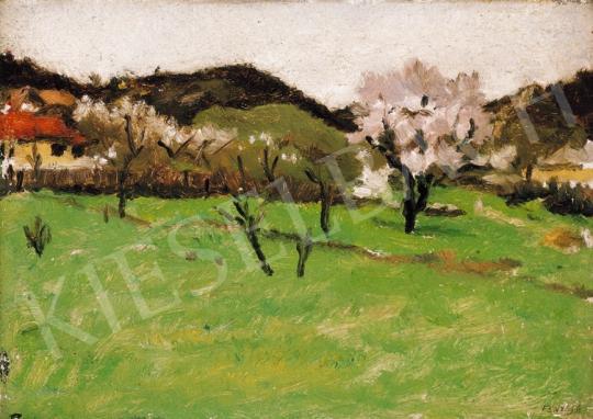 Fényes Adolf - Tavaszi domboldal | 20. Aukció aukció / 4 tétel