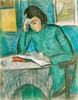 Schönberger, Armand - Reading Girl