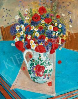 Győri, Elek - Still Life of Flowers