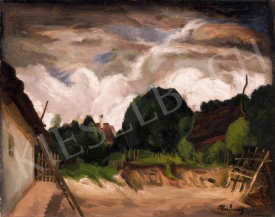 Rudnay Gyula - Gomolygó felhők | 20. Aukció aukció / 6 tétel