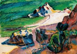 Vén Emil - Mediterrán táj (1931)