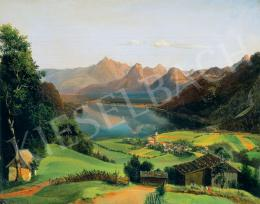 Geyling, Carl (Michael) - St. Gilgen am Wolfgang See (1837)