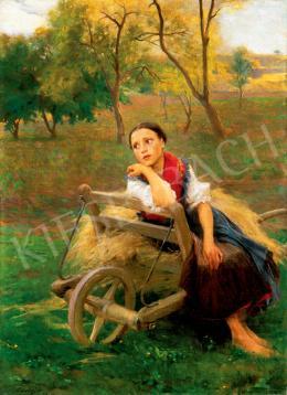 László, Fülöp - Girl, 1896