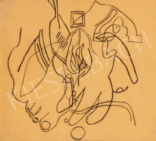 Vajda Lajos - Láb és kéz | 30. jubileumi aukció aukció / 56 tétel