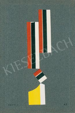 Korniss Dezső - Oszlop, 1953