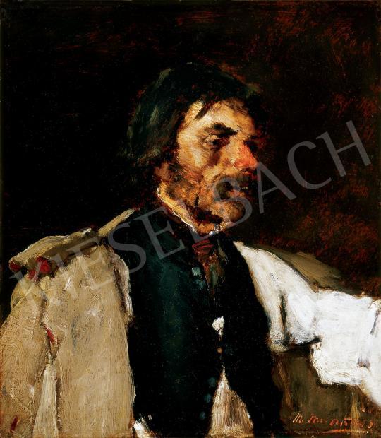 Munkácsy Mihály - Férfiportré | 30. jubileumi aukció aukció / 99 tétel