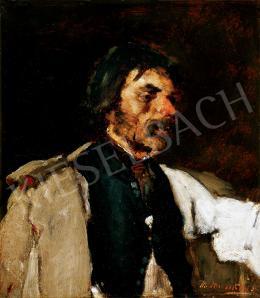 Munkácsy Mihály - Férfiportré