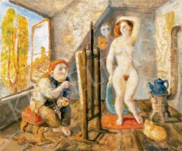 Szabó Vladimir - Festő és modell
