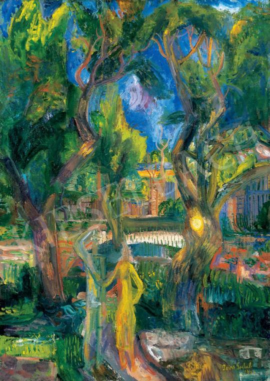 Paizs-Goebel Jenő - Szentendrei kertben | 30. jubileumi aukció aukció / 107 tétel