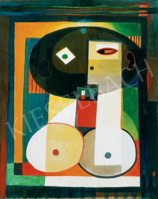 Gyarmathy Tihamér - Két világrész, 1952 | 30. jubileumi aukció aukció / 110 tétel