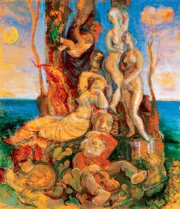 Szabó, Vladimir - The Garden of the Stone - Cutter