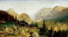 Telepy Károly - Tátrai táj, 1895
