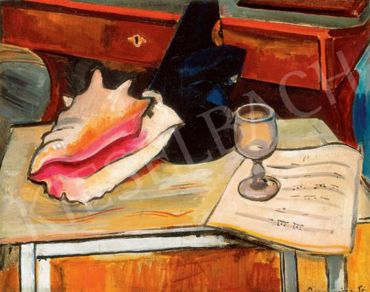 Bornemisza, Géza - Still Life with a Shell | 30. Auction auction / 200 Item