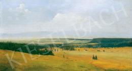 Telepy Károly - Tájkép vonuló felhőkkel