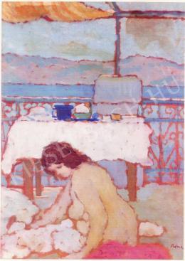 Rippl-Rónai József - Teraszon (1910 körül)