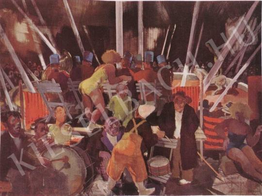 Aba-Novák, Vilmos - Circus painting