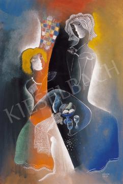 Kádár, Béla - Chat | 20th Auction auction / 26 Item