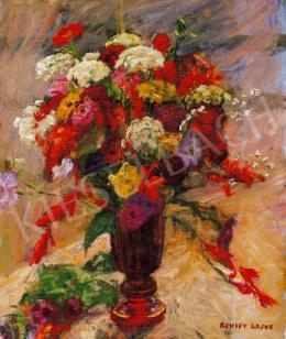 Kunffy Lajos - Virágcsendélet