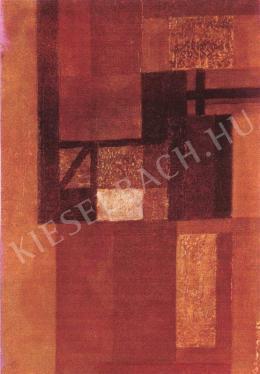 Barcsay Jenő - Konstruktív táj (1962)