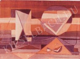Gyarmathy Tihamér - Kompozíció (1960 körül)