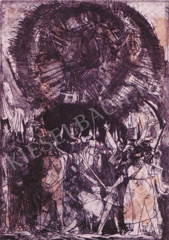 Kondor Béla - A győzelem dicsőítése festménye