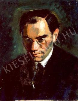 Czigány Dezső - Férfi arckép