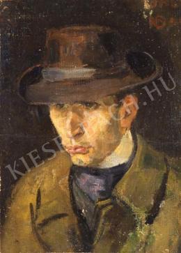Czóbel Béla - Maticska Jenő arcképe