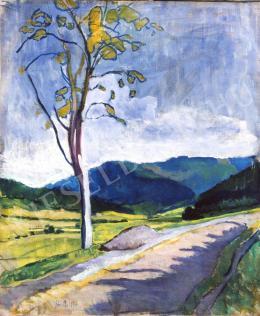 Pór Bertalan - Tájkép, 1908