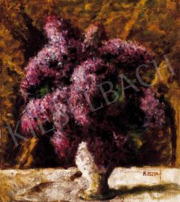Koszta, József - Purple Lilacs