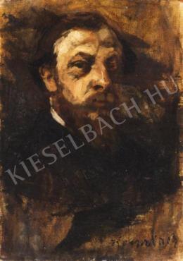 Kernstok Károly - Férfi arckép