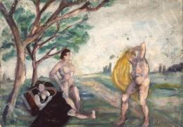 Tihanyi Lajos - Aktos kompozíció