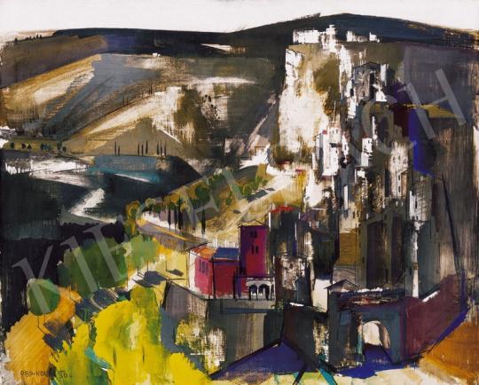 Aba-Novák Vilmos - Itáliai táj | 20. Aukció aukció / 35 tétel