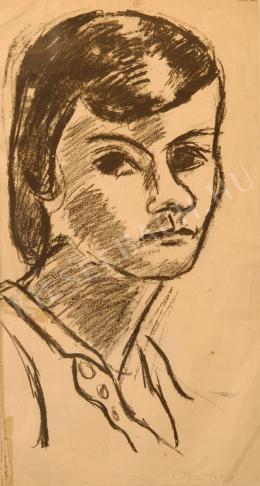 Czóbel Béla - Női arckép