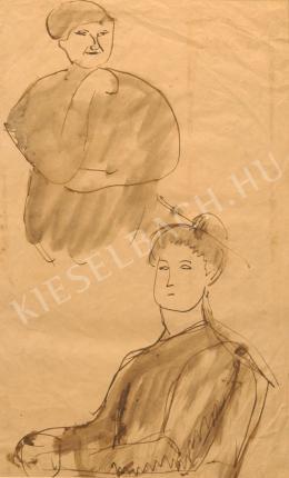 Kernstok Károly - Két japán nő