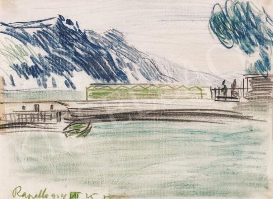 Vaszary János - Rapallo   20. Aukció aukció / 36 tétel